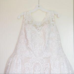 Oleg Cassini Wedding Gown (David's Bridal)